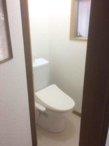 水まわり トイレ リフォーム後