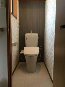 トイレ リフォーム後
